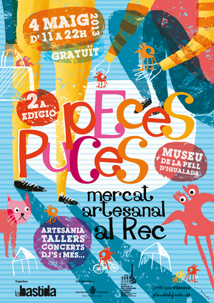Cartell Peces puces 2013