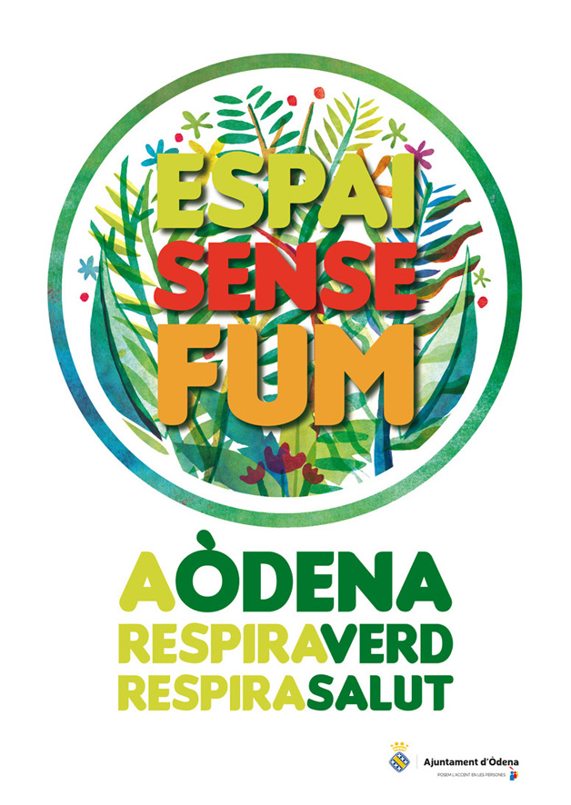 Logo Espai sense fum 70x50cm