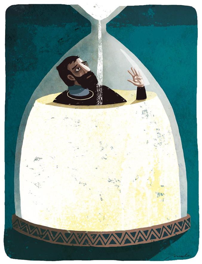 Cuerdas -Mientras tanto- -Ilustración Xavier Mula