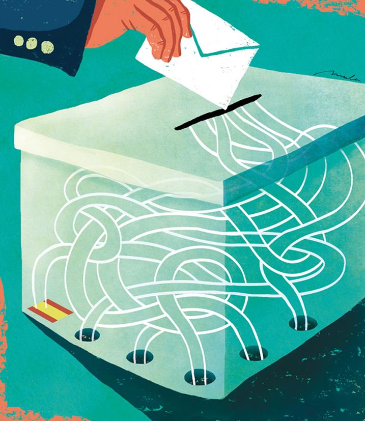 """Xavier Mula """"Voto rogado, voto robado"""""""