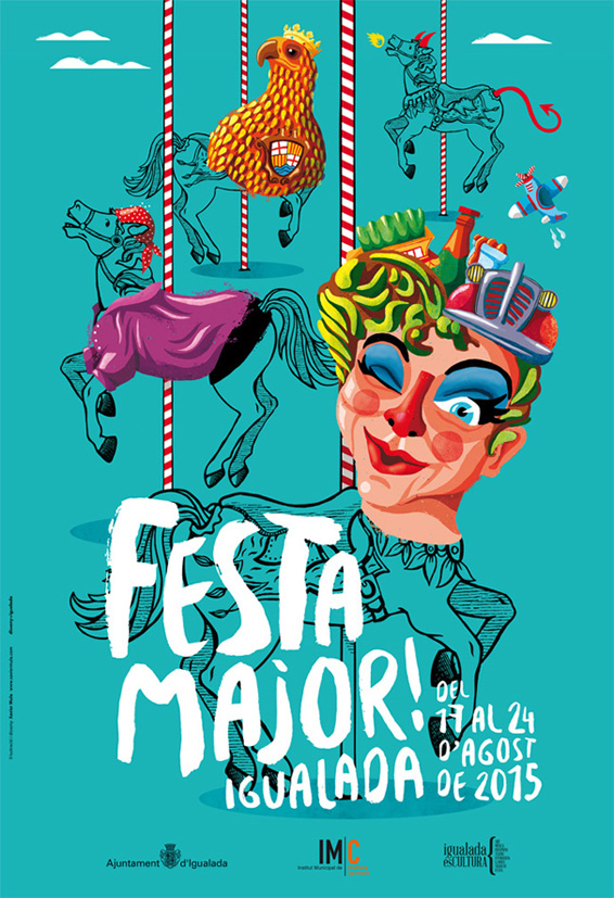 Cartell Festa Major 59,4x40,64cm