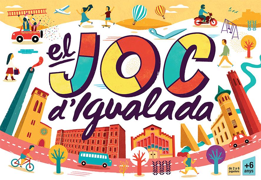 """""""El joc d'Igualada"""" – Boardgame"""